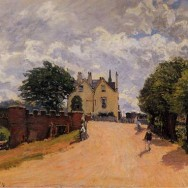 Inn_at_East_Molesey_with_Hampton_Court_Bridge__1874