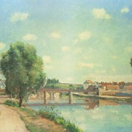 Pissarro_The_Railway_Bridge_at_Pontoise
