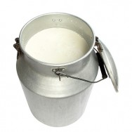Milk_in_metal_milk_can