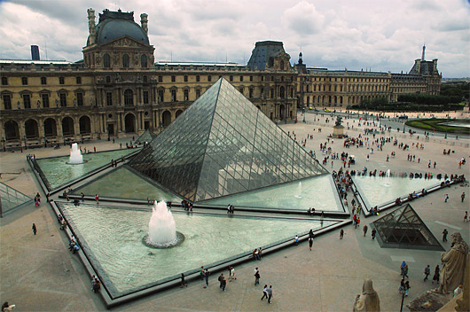 The Man Behind The Louvre Pyramid
