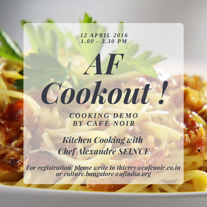 Pasta Cookout with Alexandre Seince