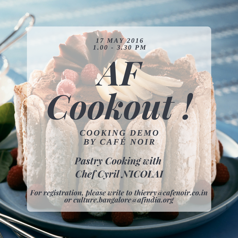 AF Cookout: Desserts With Cyril Nicolai
