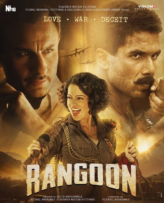 Rangoon: Unwieldy And Bloody Long
