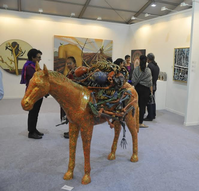 India Art Fair 2017: Small And Impactful